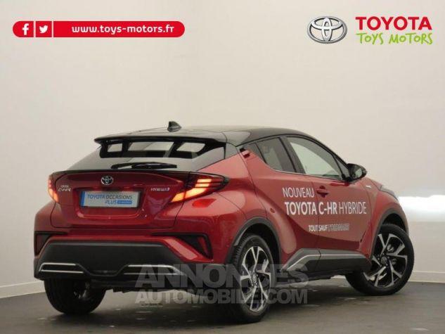 Toyota C-HR 184h Collection 2WD E-CVT MC19 Bi Ton Rouge Intense Noir Occasion - 1