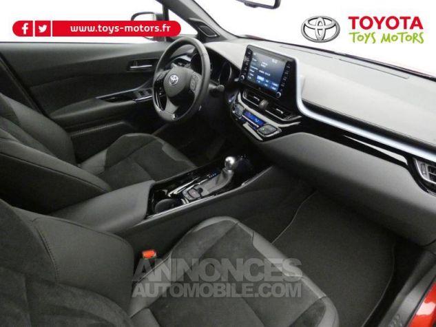 Toyota C-HR 184h Collection 2WD E-CVT MC19 Bi Ton Rouge Intense Noir Occasion - 2