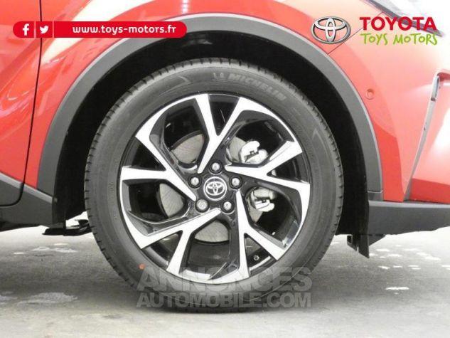 Toyota C-HR 184h Collection 2WD E-CVT MC19 Bi Ton Rouge Intense Noir Occasion - 5