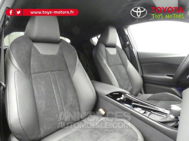 Toyota C-HR 184h Collection 2WD E-CVT MC19 Bi Ton Rouge Intense Noir Occasion - 6