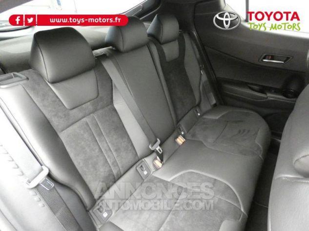 Toyota C-HR 184h Collection 2WD E-CVT MC19 Bi Ton Rouge Intense Noir Occasion - 7