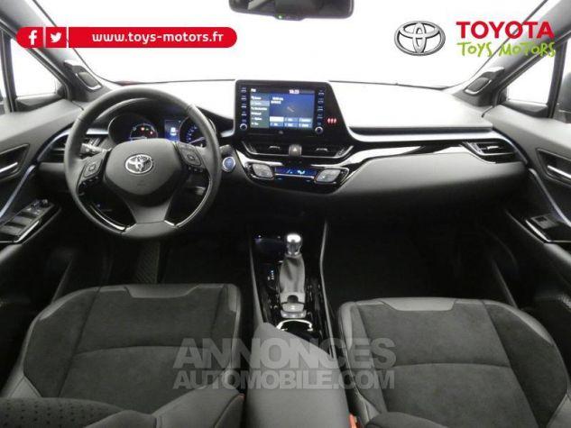 Toyota C-HR 184h Collection 2WD E-CVT MC19 Bi Ton Rouge Intense Noir Occasion - 8