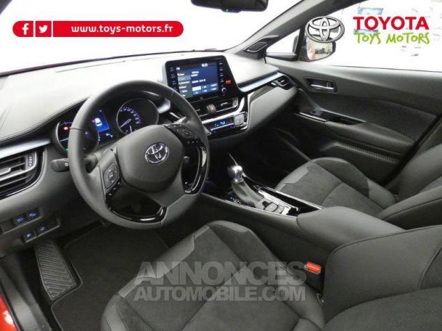 Toyota C-HR 184h Collection 2WD E-CVT MC19 Bi Ton Rouge Intense Noir Occasion - 10