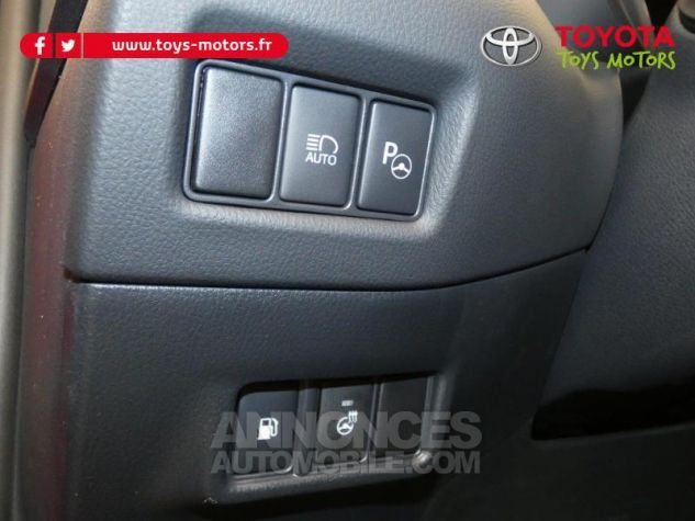Toyota C-HR 184h Collection 2WD E-CVT MC19 Bi Ton Rouge Intense Noir Occasion - 11