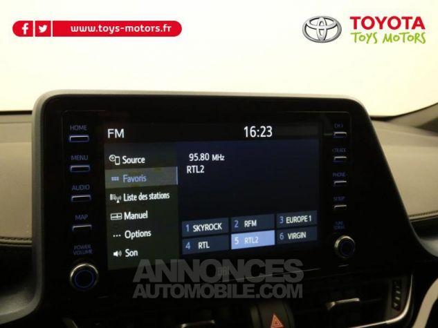 Toyota C-HR 184h Collection 2WD E-CVT MC19 Bi Ton Rouge Intense Noir Occasion - 13