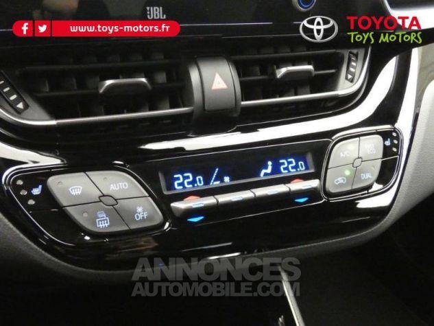 Toyota C-HR 184h Collection 2WD E-CVT MC19 Bi Ton Rouge Intense Noir Occasion - 16