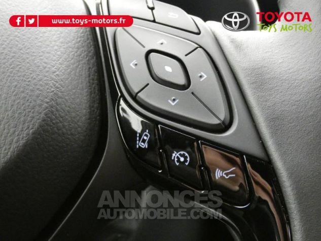 Toyota C-HR 184h Collection 2WD E-CVT MC19 Bi Ton Rouge Intense Noir Occasion - 18