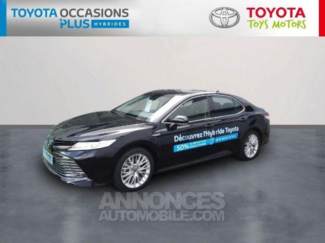 Toyota CAMRY Hybride 218ch Design Noir Metallise Occasion - 0