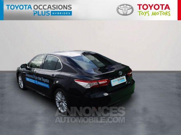 Toyota CAMRY Hybride 218ch Design Noir Metallise Occasion - 1