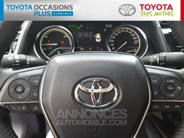 Toyota CAMRY Hybride 218ch Design Noir Metallise Occasion - 7