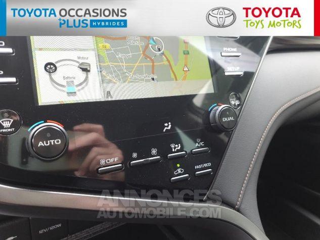 Toyota CAMRY Hybride 218ch Design Noir Metallise Occasion - 10