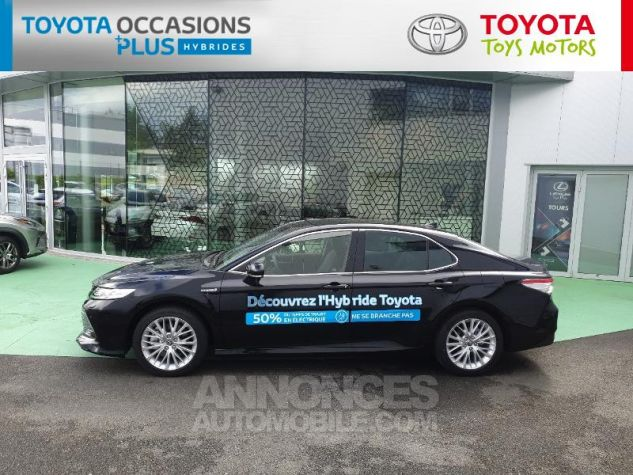 Toyota CAMRY Hybride 218ch Design Noir Metallise Occasion - 17