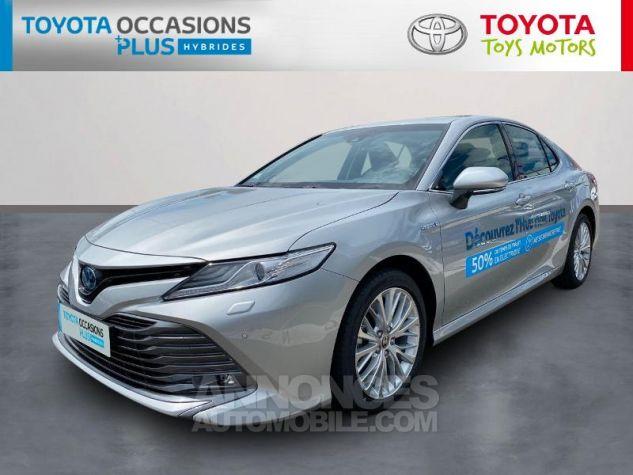 Toyota CAMRY Hybride 218ch Lounge Gris Aluminium Occasion - 0