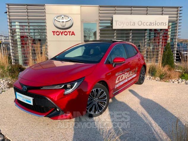 Toyota COROLLA 122h Design ROUGE INTENSE Occasion - 0