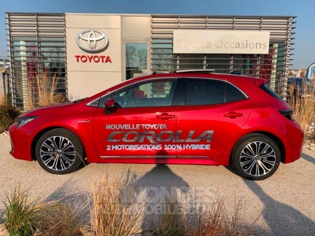 Toyota COROLLA 122h Design ROUGE INTENSE Occasion - 2