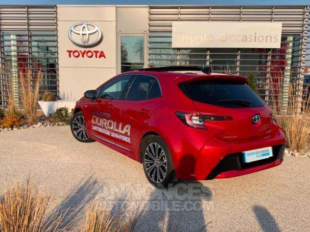 Toyota COROLLA 122h Design ROUGE INTENSE Occasion - 3