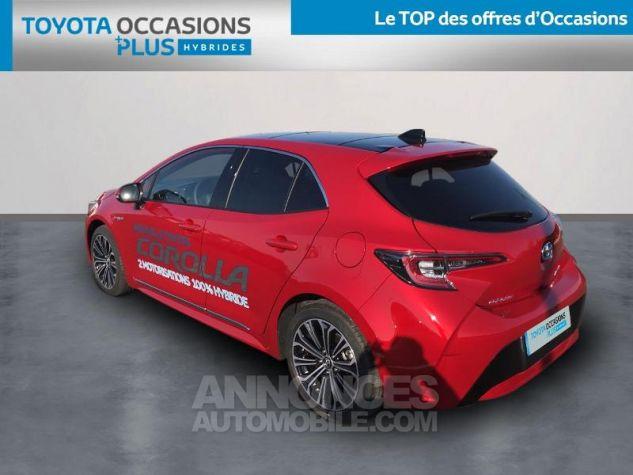 Toyota COROLLA 122h Design ROUGE INTENSE Occasion - 1