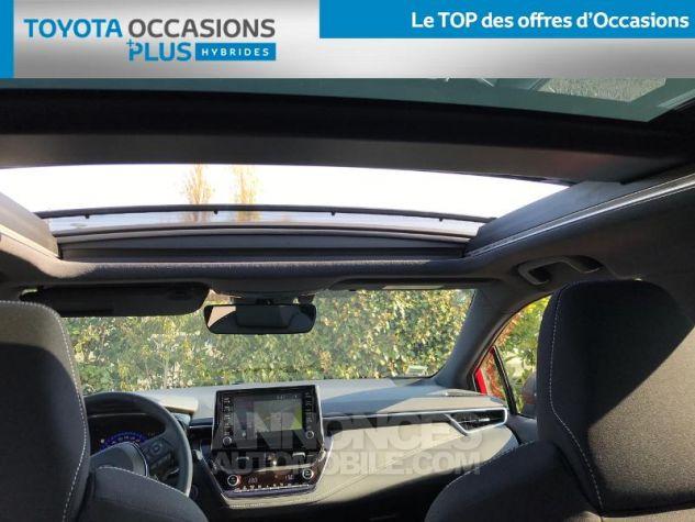 Toyota COROLLA 122h Design ROUGE INTENSE Occasion - 17