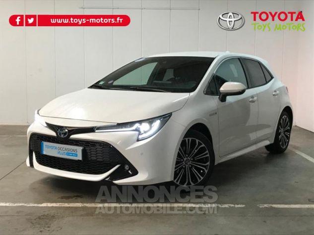 Toyota COROLLA 122h Design Blanc Pur Occasion - 0