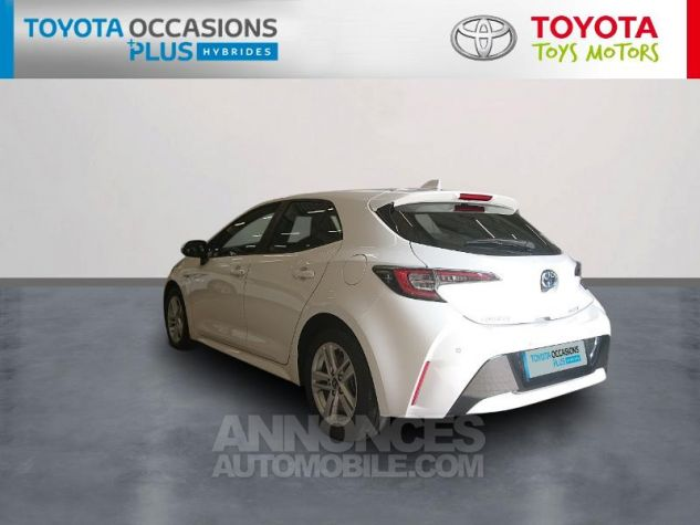Toyota COROLLA 122h Dynamic Business Blanc Pur Occasion - 1