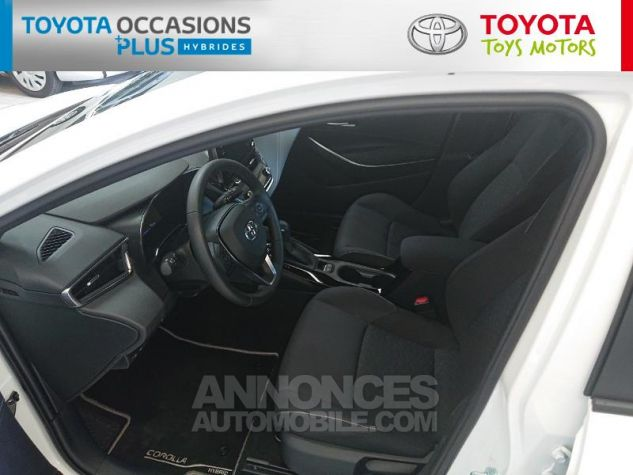 Toyota COROLLA 122h Dynamic Business Blanc Pur Occasion - 12