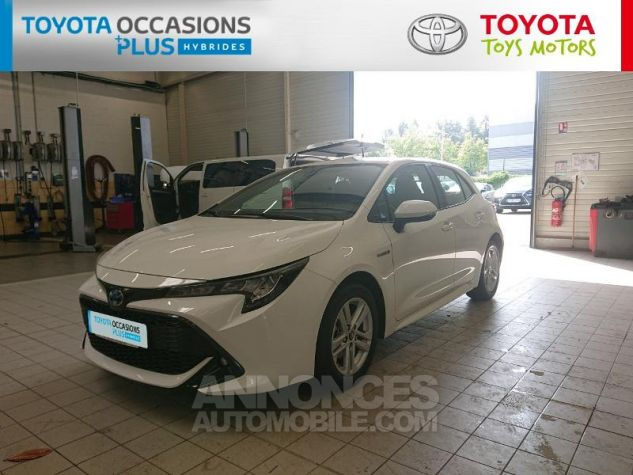 Toyota COROLLA 122h Dynamic Business Blanc Pur Occasion - 15