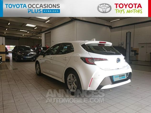 Toyota COROLLA 122h Dynamic Business Blanc Pur Occasion - 16