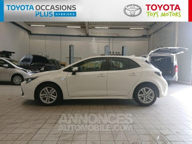 Toyota COROLLA 122h Dynamic Business Blanc Pur Occasion - 17