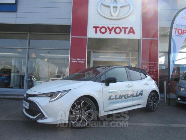 Toyota COROLLA 180h Collection BI TON BLANC NACRE   NOIR Occasion - 2