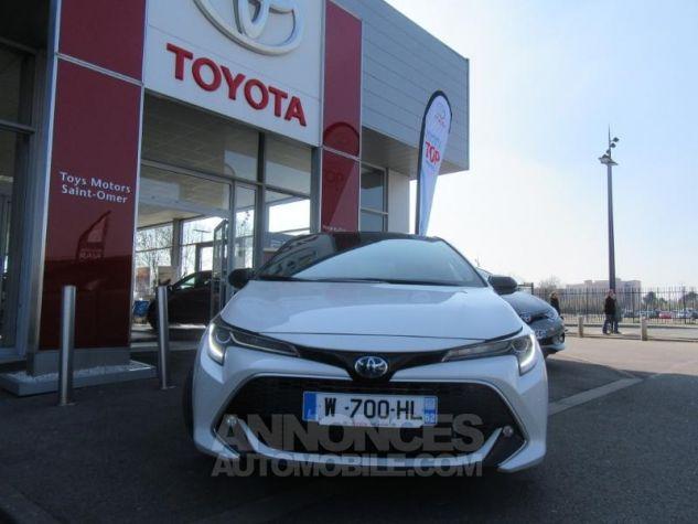 Toyota COROLLA 180h Collection BI TON BLANC NACRE   NOIR Occasion - 3