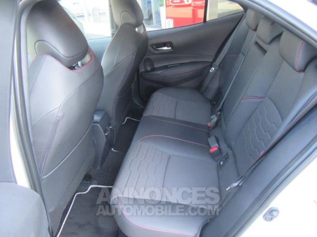 Toyota COROLLA 180h Collection BI TON BLANC NACRE   NOIR Occasion - 5