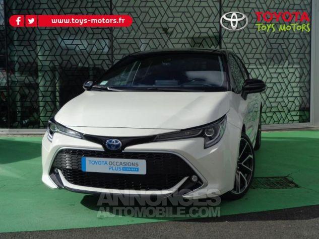 Toyota COROLLA 180h Collection BI TON BLANC NACRE   NOIR Occasion - 0