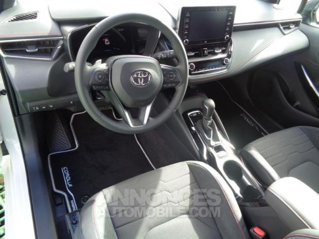 Toyota COROLLA 180h Collection BI TON BLANC NACRE   NOIR Occasion - 4