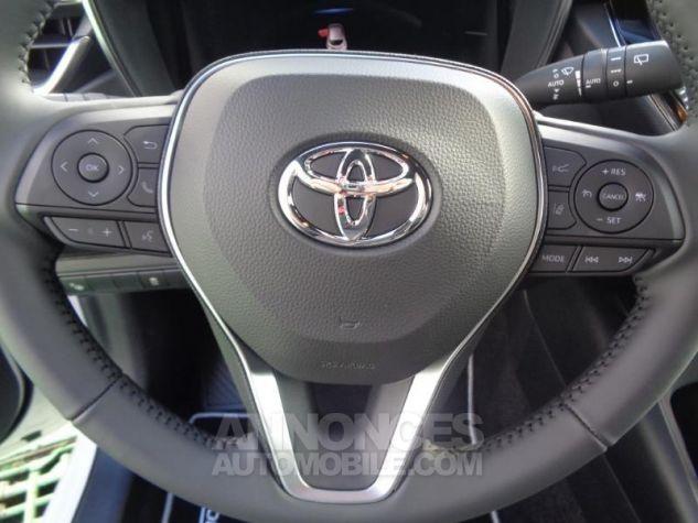 Toyota COROLLA 180h Collection BI TON BLANC NACRE   NOIR Occasion - 10