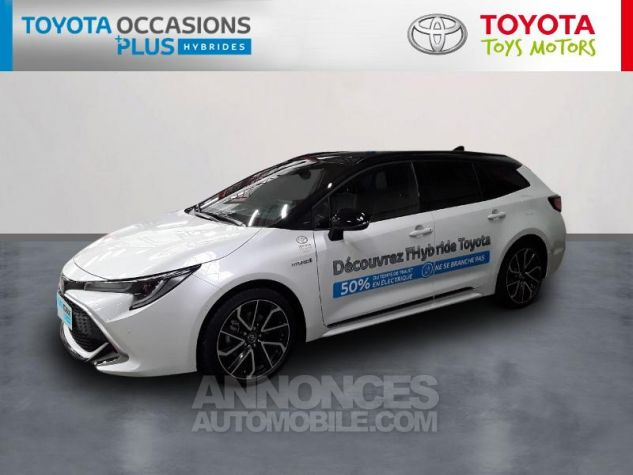 Toyota COROLLA 180h Collection MY20 Bi Ton Blanc Nacre Noir Occasion - 0