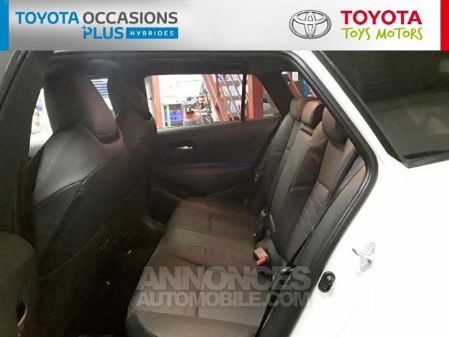 Toyota COROLLA 180h Collection MY20 Bi Ton Blanc Nacre Noir Occasion - 13