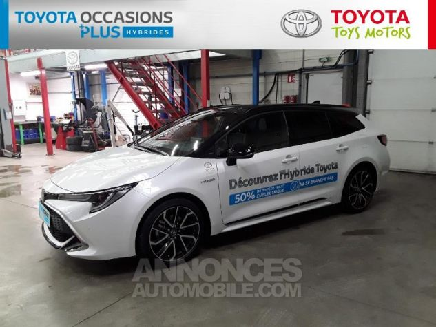 Toyota COROLLA 180h Collection MY20 Bi Ton Blanc Nacre Noir Occasion - 19