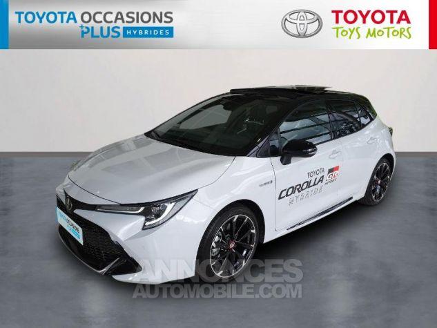 Toyota COROLLA 180h GR Sport MY20 Bi Ton Gris Chrome Occasion - 0