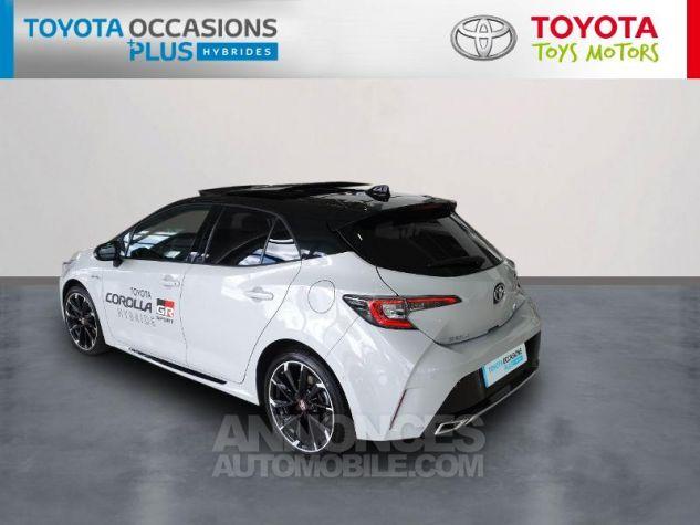 Toyota COROLLA 180h GR Sport MY20 Bi Ton Gris Chrome Occasion - 1