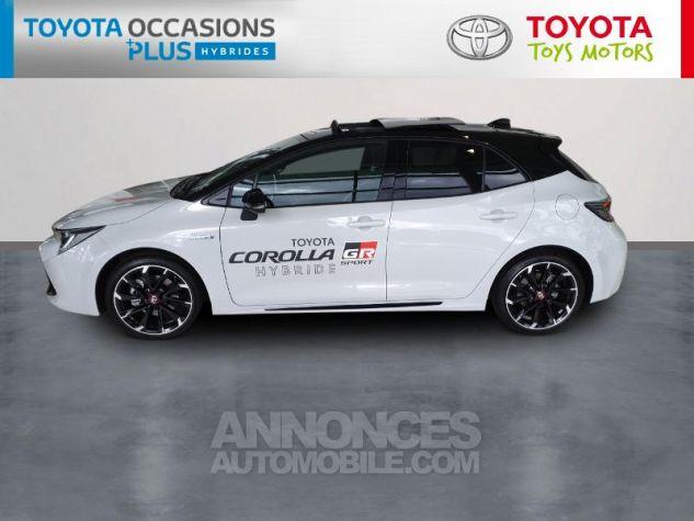 Toyota COROLLA 180h GR Sport MY20 Bi Ton Gris Chrome Occasion - 2