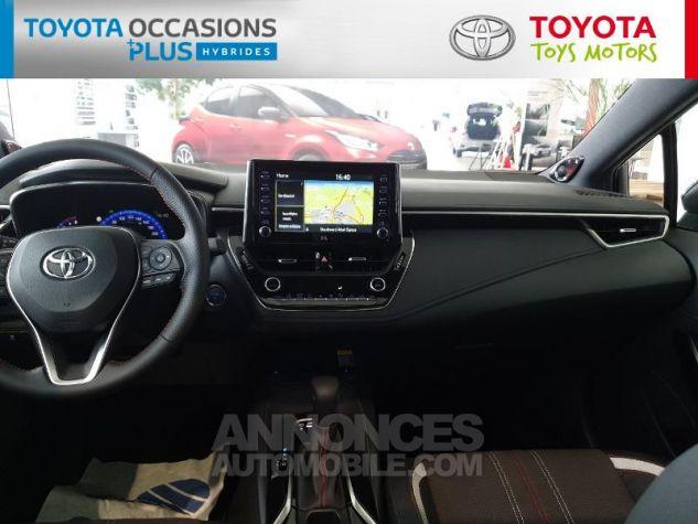 Toyota COROLLA 180h GR Sport MY20 Bi Ton Gris Chrome Occasion - 4