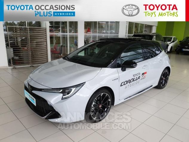 Toyota COROLLA 180h GR Sport MY20 Bi Ton Gris Chrome Occasion - 15