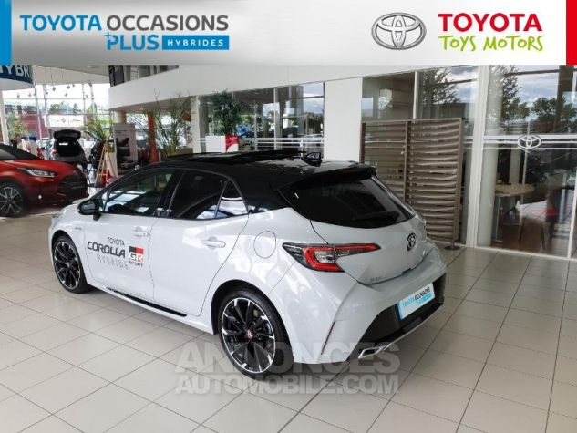 Toyota COROLLA 180h GR Sport MY20 Bi Ton Gris Chrome Occasion - 16