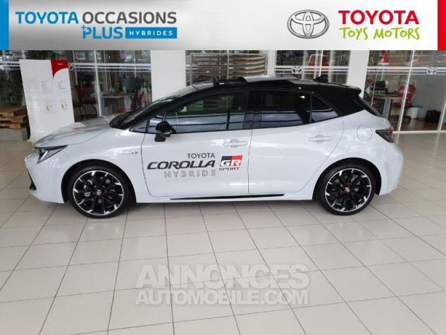 Toyota COROLLA 180h GR Sport MY20 Bi Ton Gris Chrome Occasion - 17