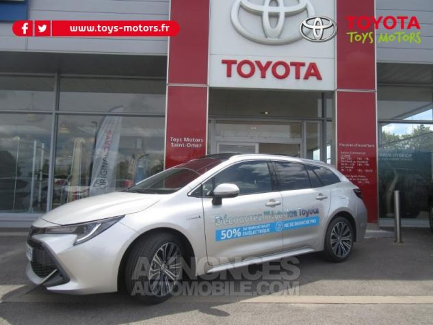 Toyota COROLLA 184h Design MY20 Gris Argent Occasion - 0