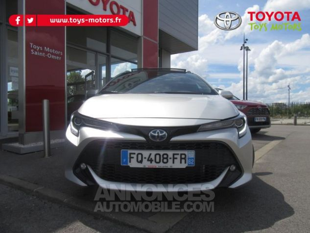 Toyota COROLLA 184h Design MY20 Gris Argent Occasion - 1