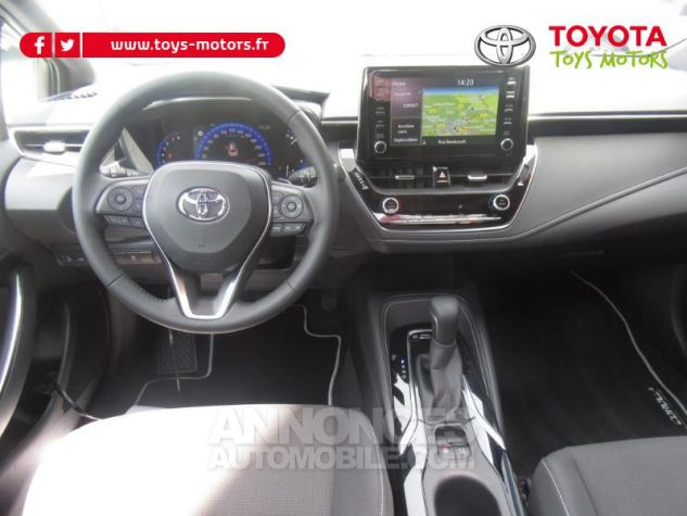 Toyota COROLLA 184h Design MY20 Gris Argent Occasion - 3