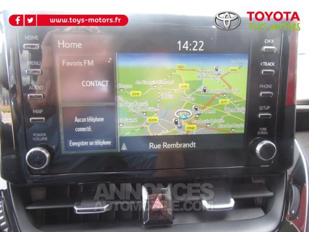 Toyota COROLLA 184h Design MY20 Gris Argent Occasion - 10