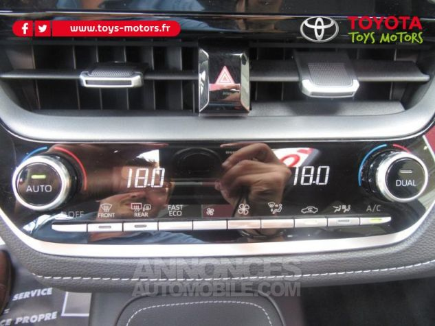 Toyota COROLLA 184h Design MY20 Gris Argent Occasion - 14