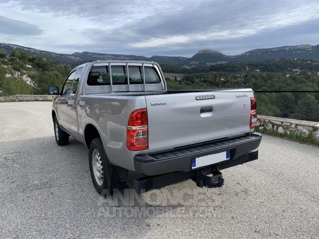 Toyota HILUX 144 D-4D X-TRA CABINE LE CAP 4WD GRIS ARGENT METAL Occasion - 3